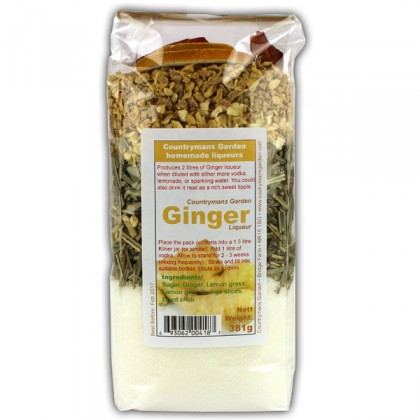 Ginger Liqueur By Countrymans Garden from dowricks.com
