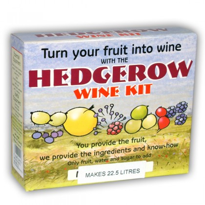 Hedgerow Winemaking kit 1 gallon from dowricks.com