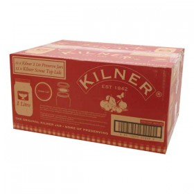 Kilner preserve jars - 1000ml - Pack of 12