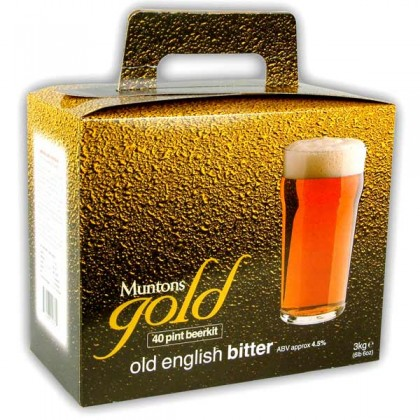 Muntons Gold Old English Bitter from dowricks.com
