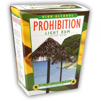 Prohibition Light Rum from dowricks.com