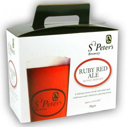 St Peters Brewery Ruby Red Ale from dowricks.com