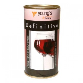Youngs Definitive Red Grape Concentrate - 245g