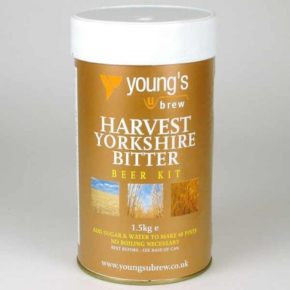 Youngs Harvest Yorkshire Bitter from dowricks.com